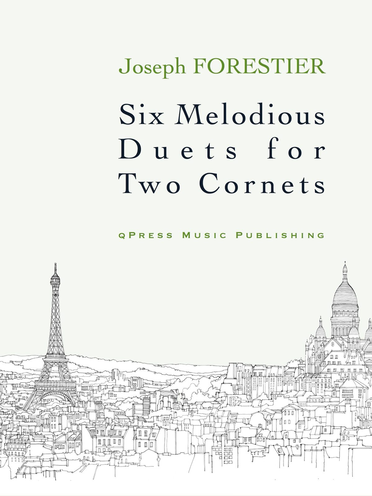 Forestier, Six Melodious Duets-p01