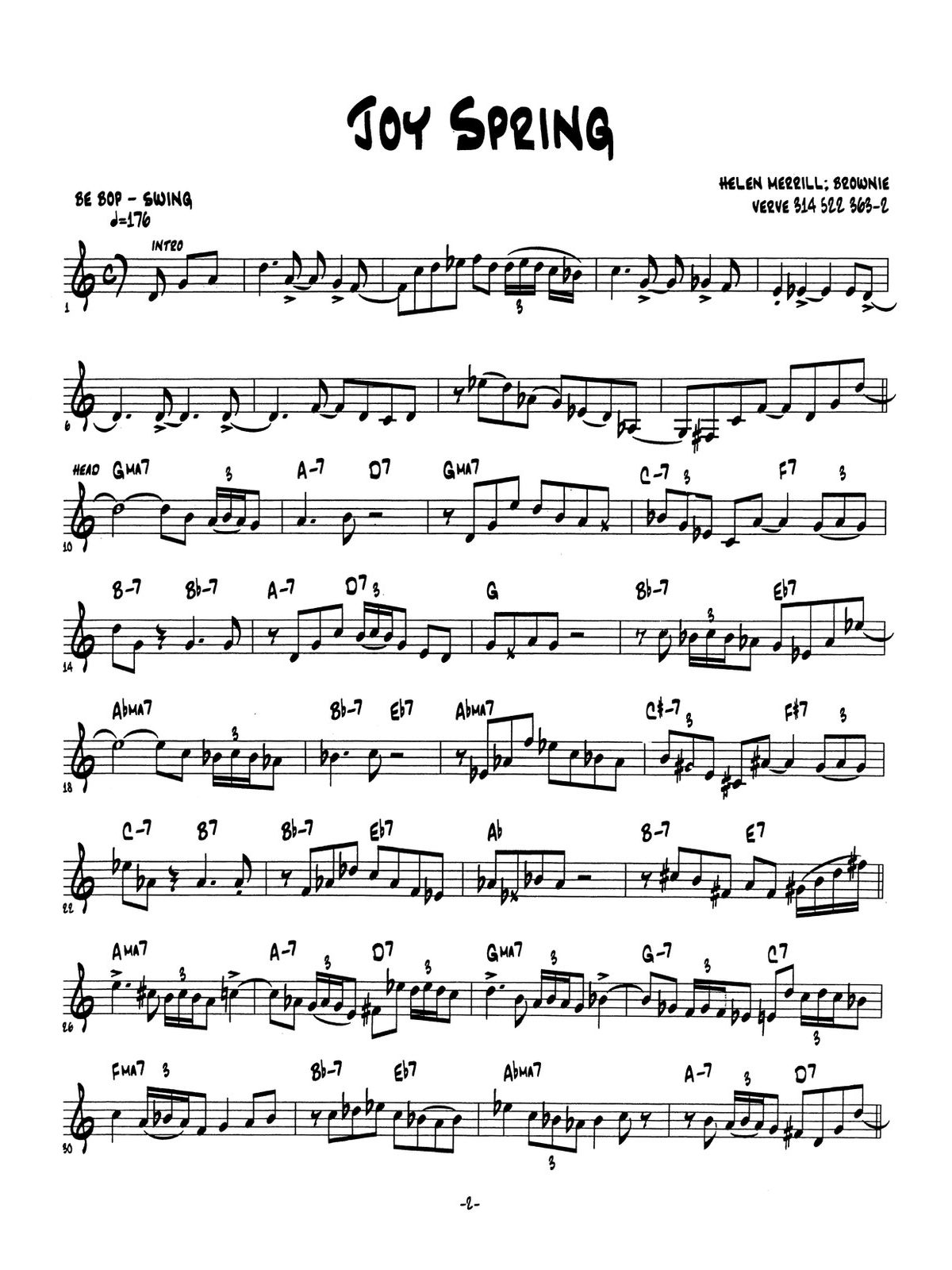 Harrell, Trumpet Transcriptions-p06