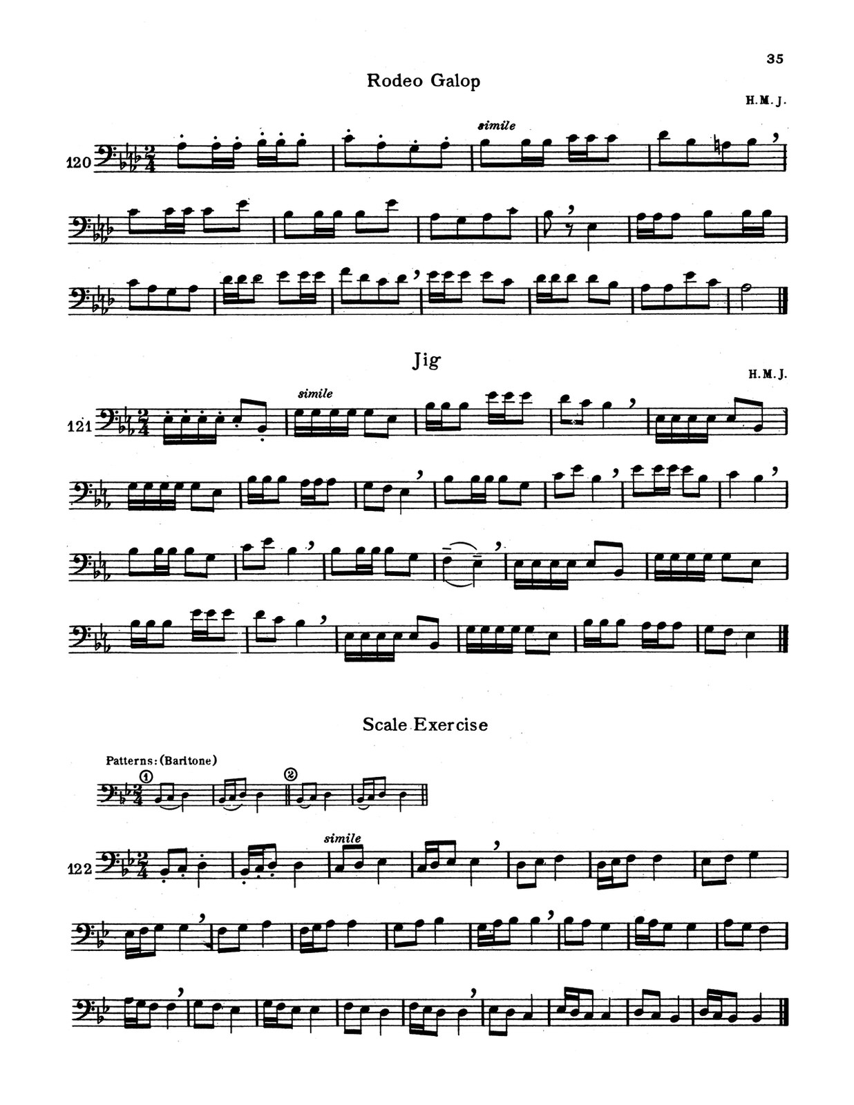 Johnson, Harold M., Aeolian Method for Trombone-p35
