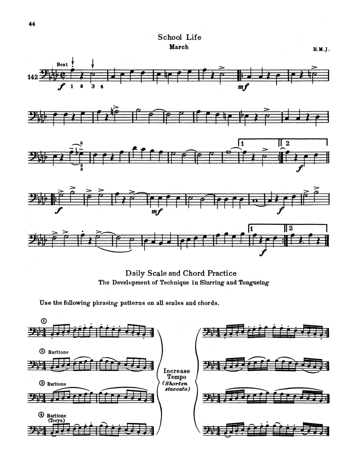 Johnson, Harold M., Aeolian Method for Trombone-p44