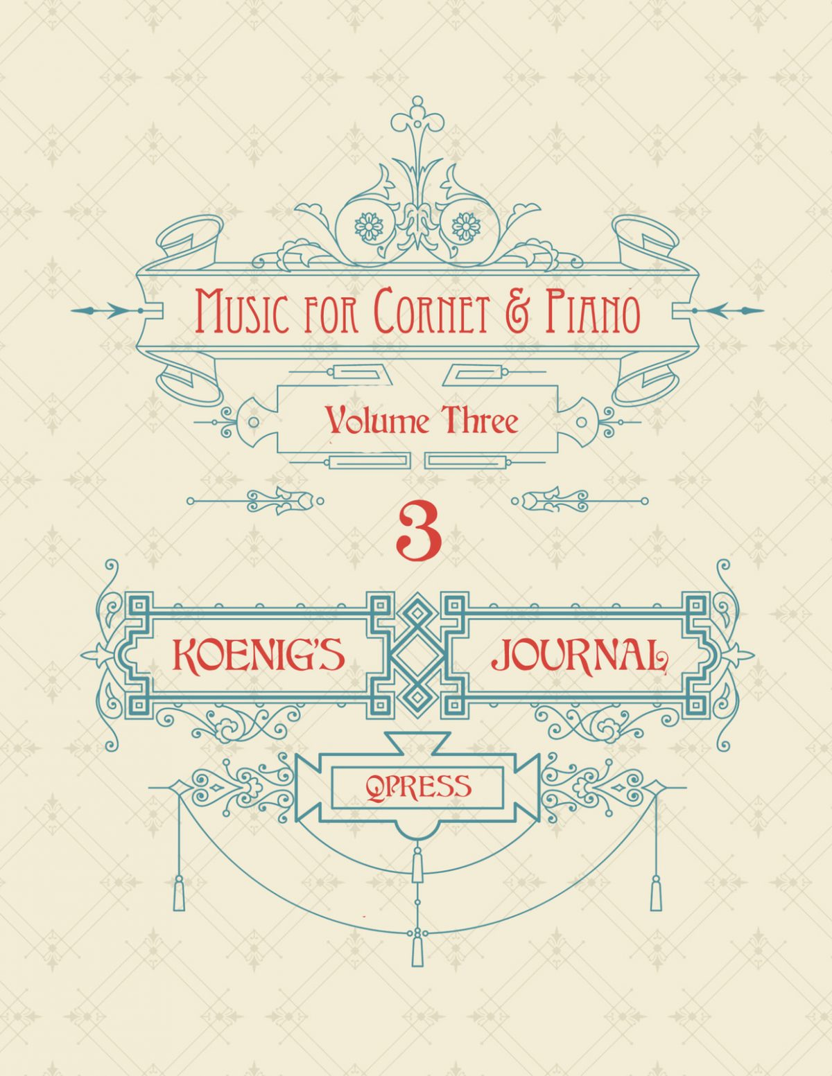Koenig's Journal Vol.3 (Part and Score)