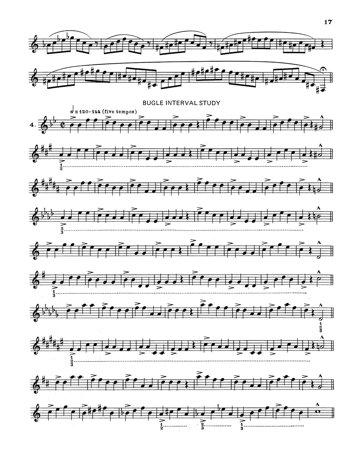 Mitchell, Trumpet Method Book 2-p19