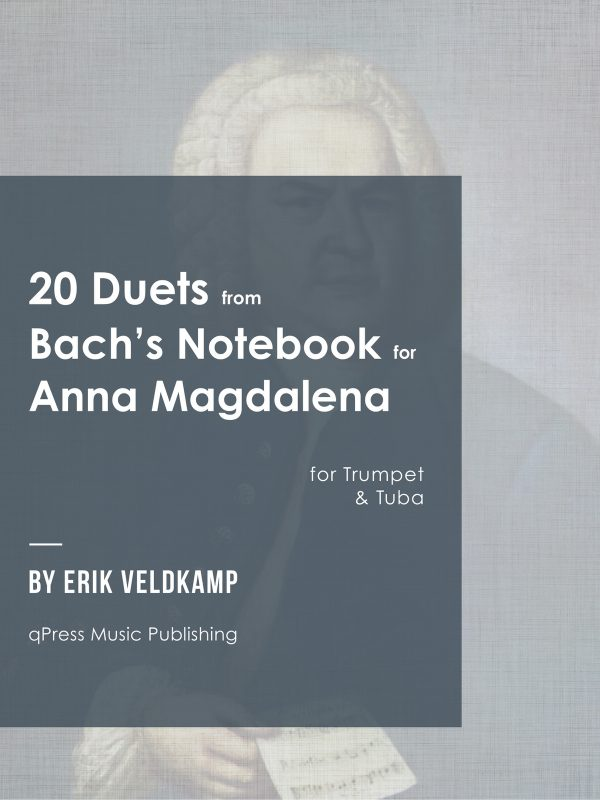 Veldkamp-Bach, 21 Duets for Trumpet and Tuba