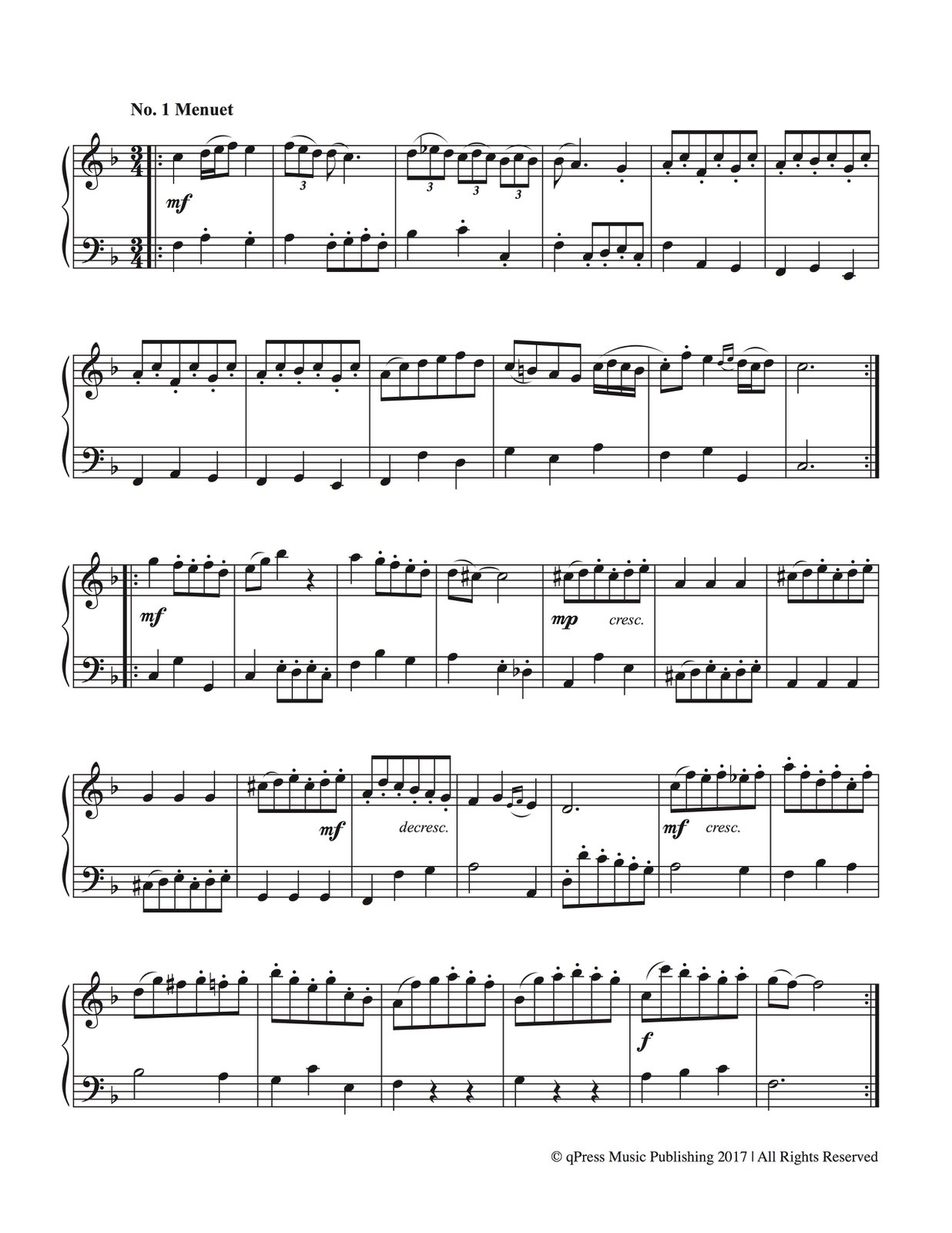Veldkamp-Bach, 21 Duets for Trumpet and Tuba-p03