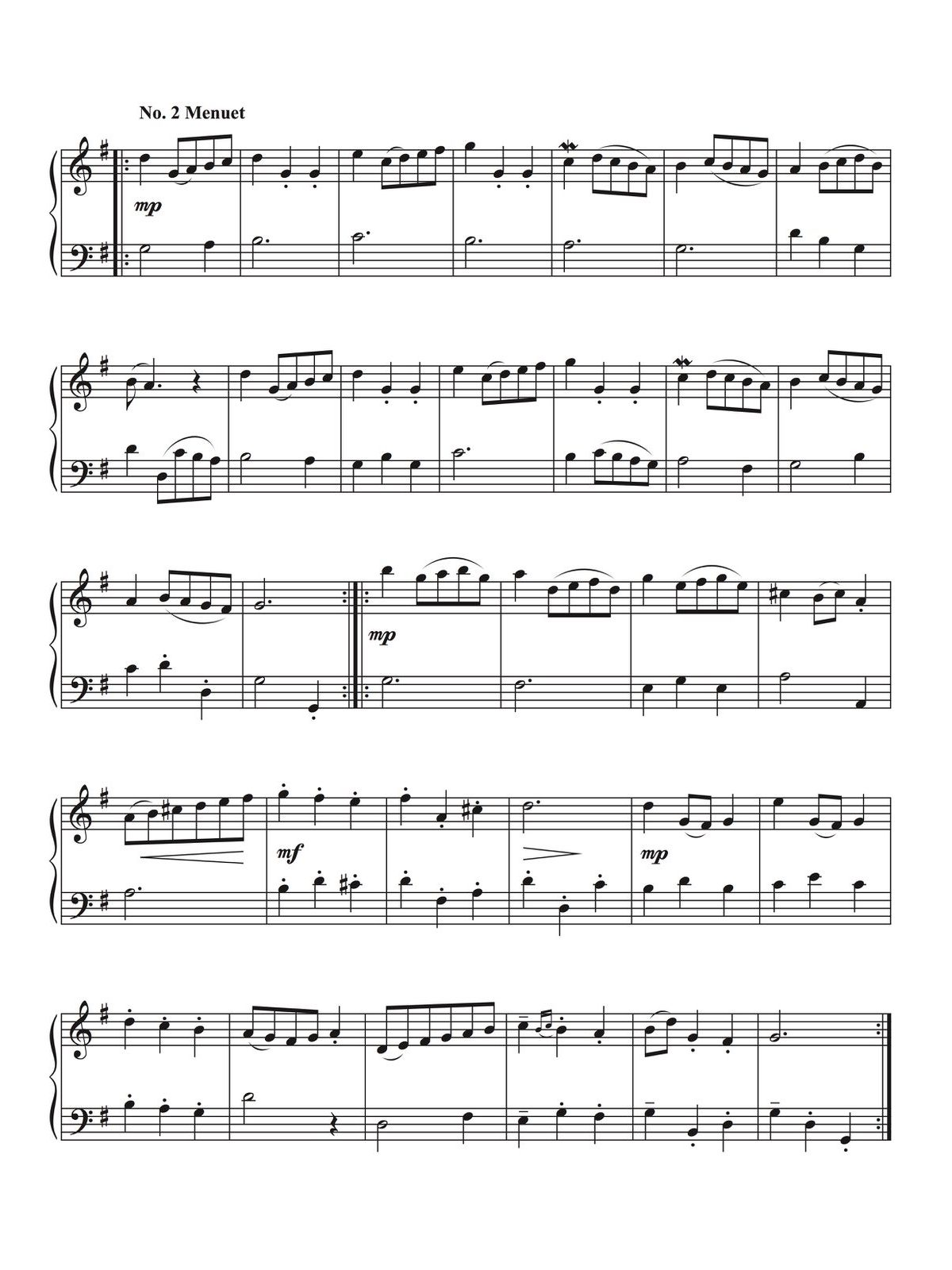 Veldkamp-Bach, 21 Duets for Trumpet and Tuba-p04