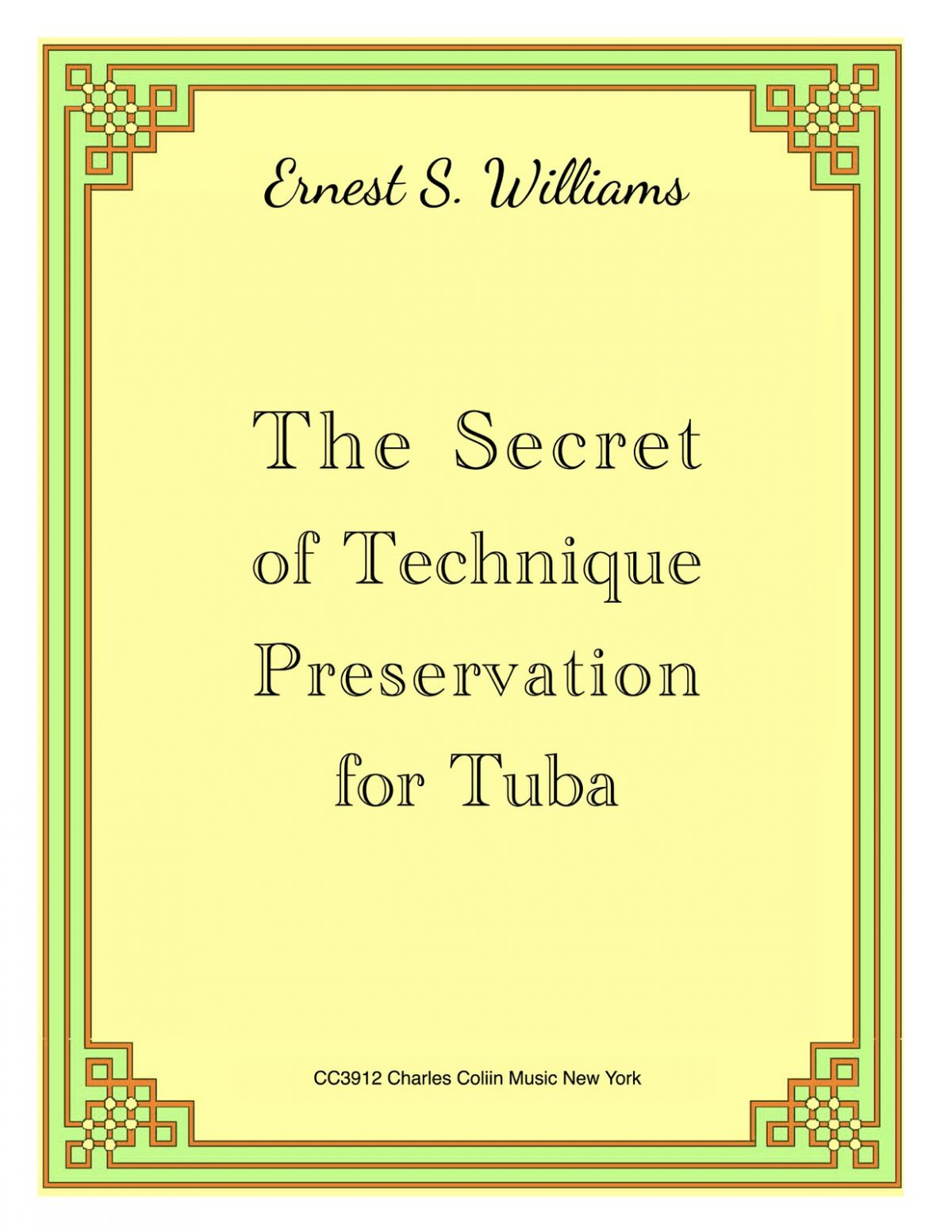 Williams, Secret of Technique Preservation for Tuba Keep Copyrights-p01
