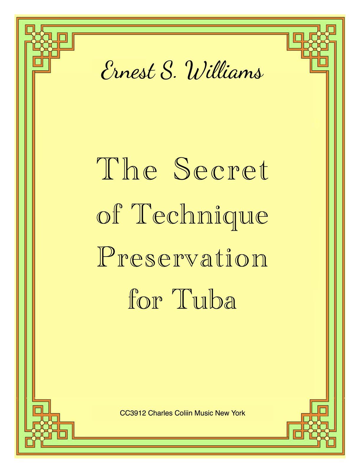 Williams, Secret of Technique Preservation for Tuba Keep Copyrights-p01