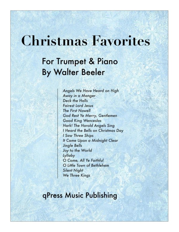 Beeler's Christmas Favorites for Trumpet & Piano