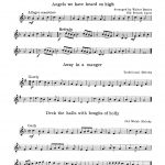 Beeler, Christmas Favourites for Trumpet and Piano-p04