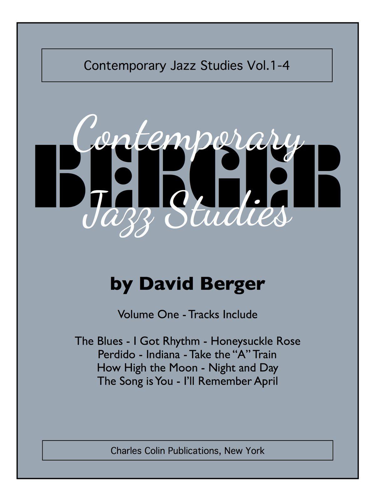 Berger, David Contemporary Jazz Studies V.1