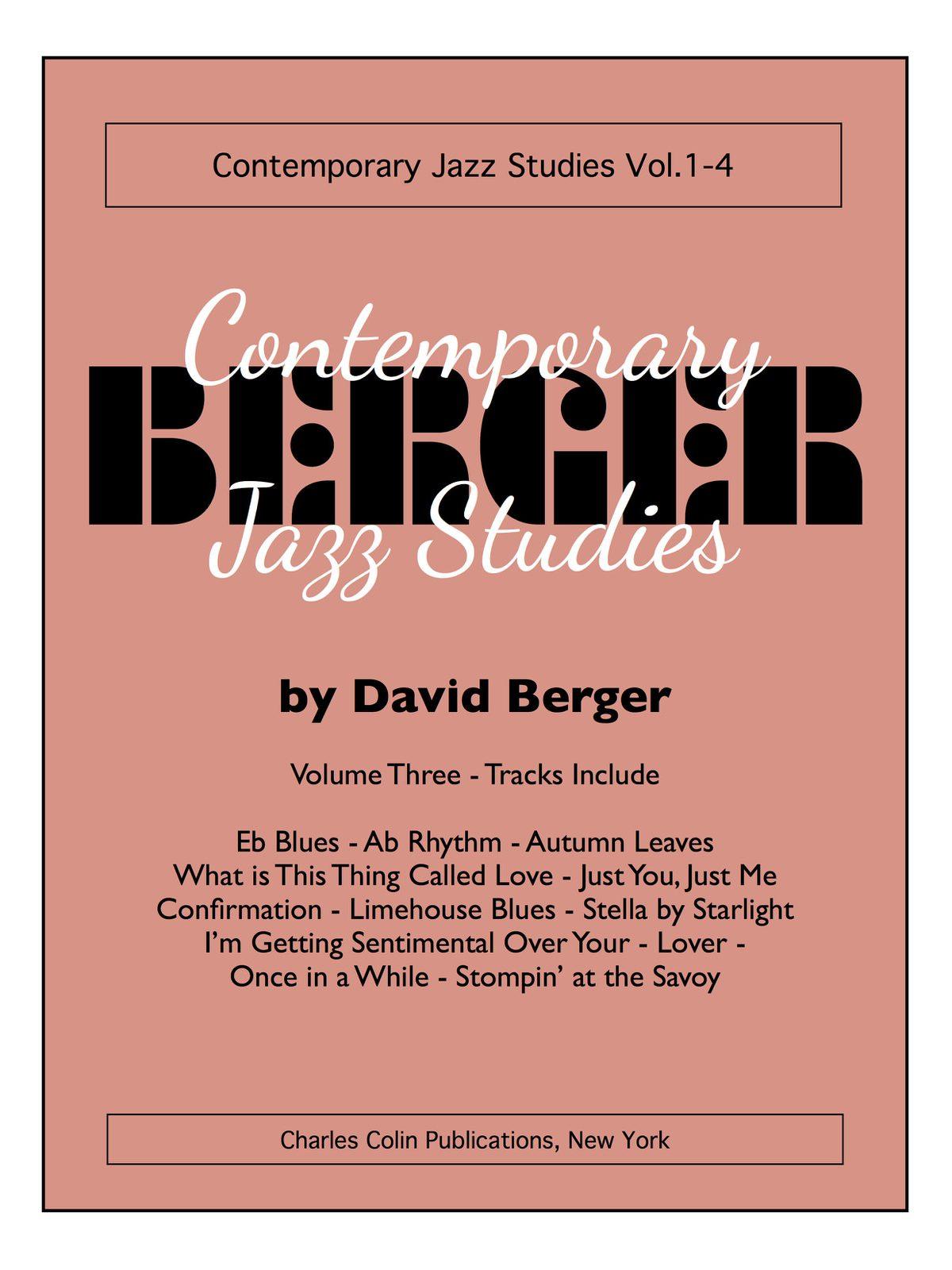 Berger, David Contemporary Jazz Studies V.3