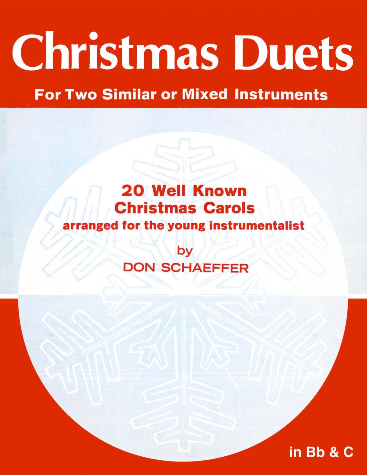 Schaeffer Christmas Duets 20 well known carols
