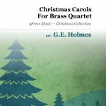 Holmes, GE, Christmas Carols for Brass Quartet-p01