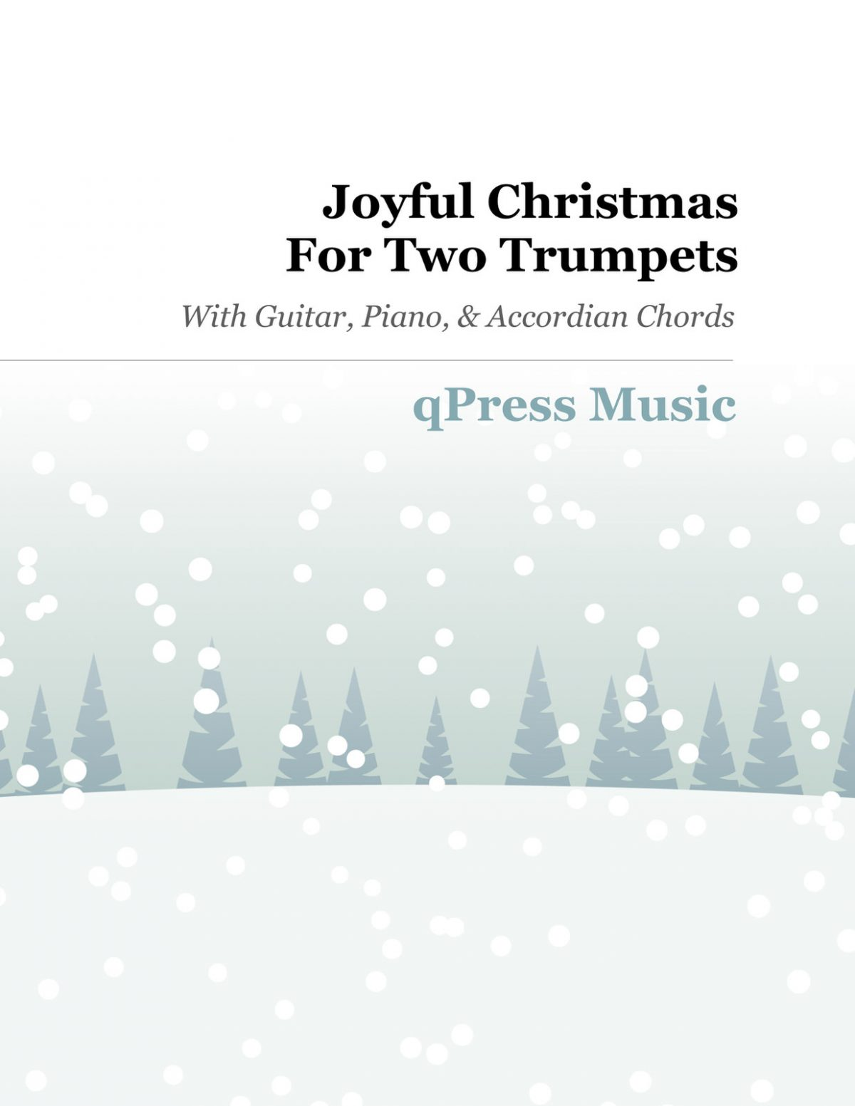 Joyful Christmas for Two Trumpets