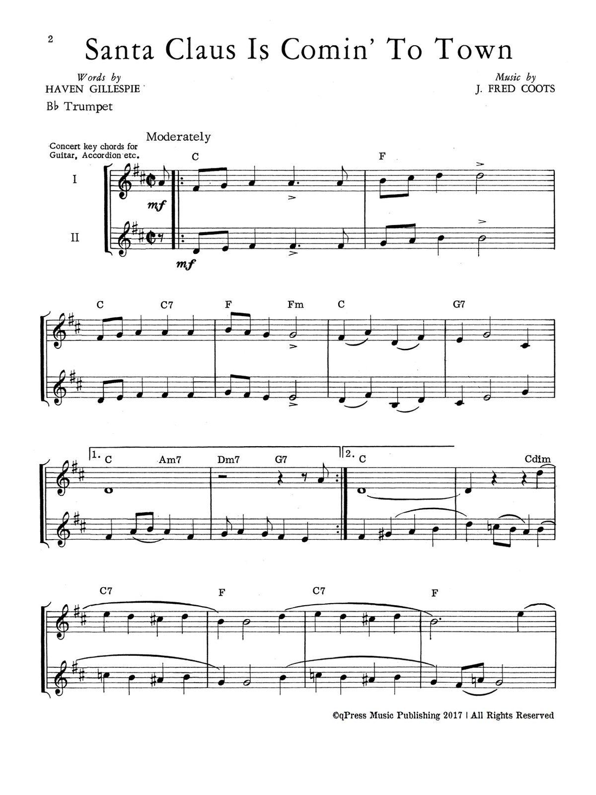 Joyful Christmas for Two Trumpets-p04