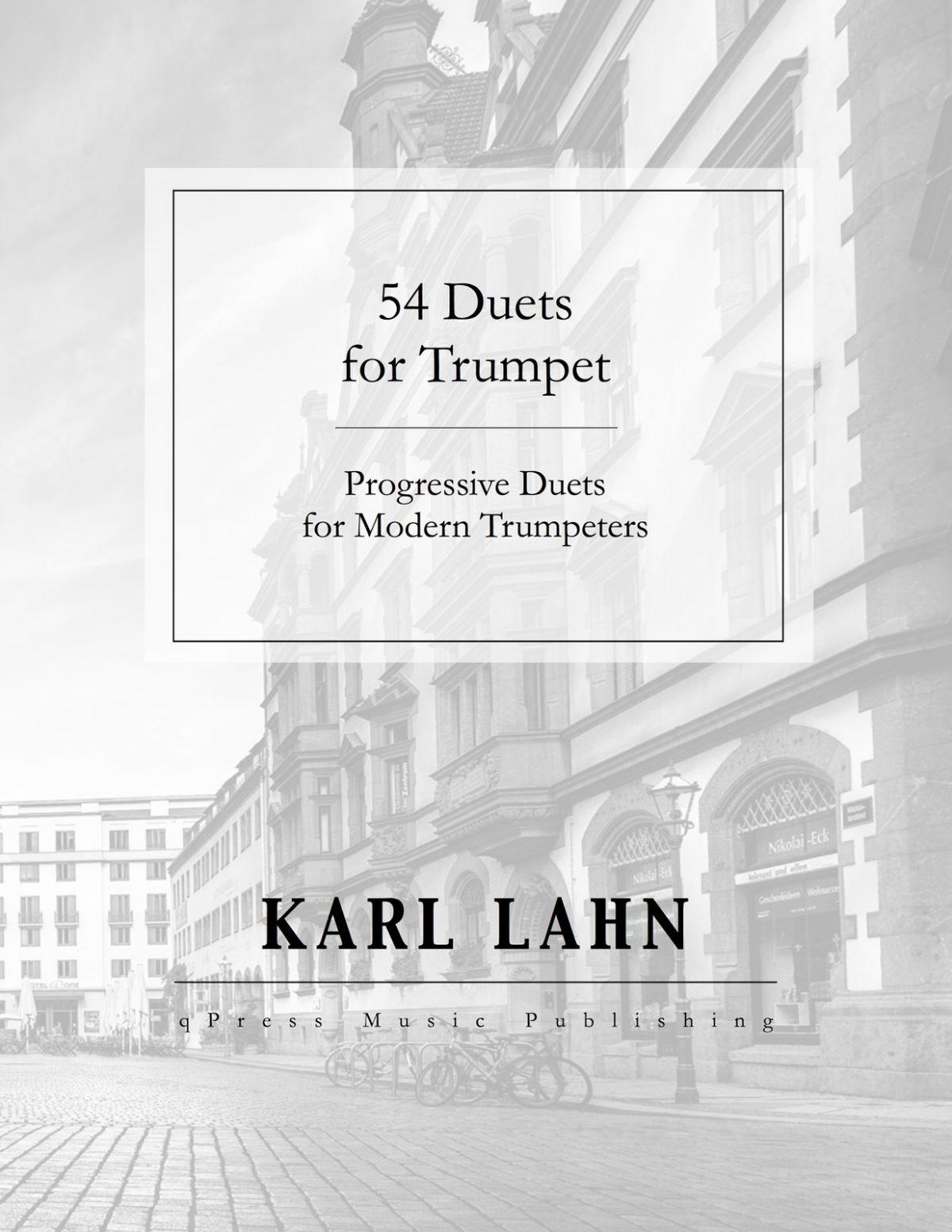 Lahn, 54 Duets for Trumpet-p01
