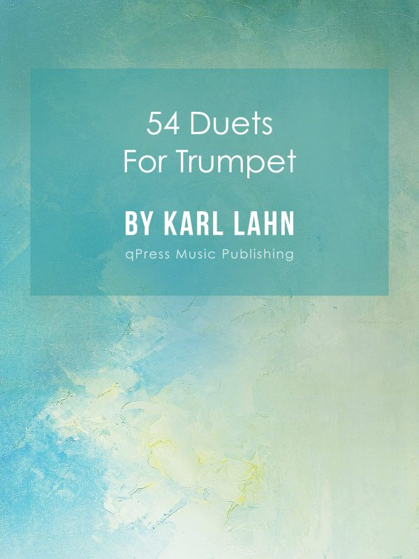 Lahn, 54 Duets for Trumpet-p01