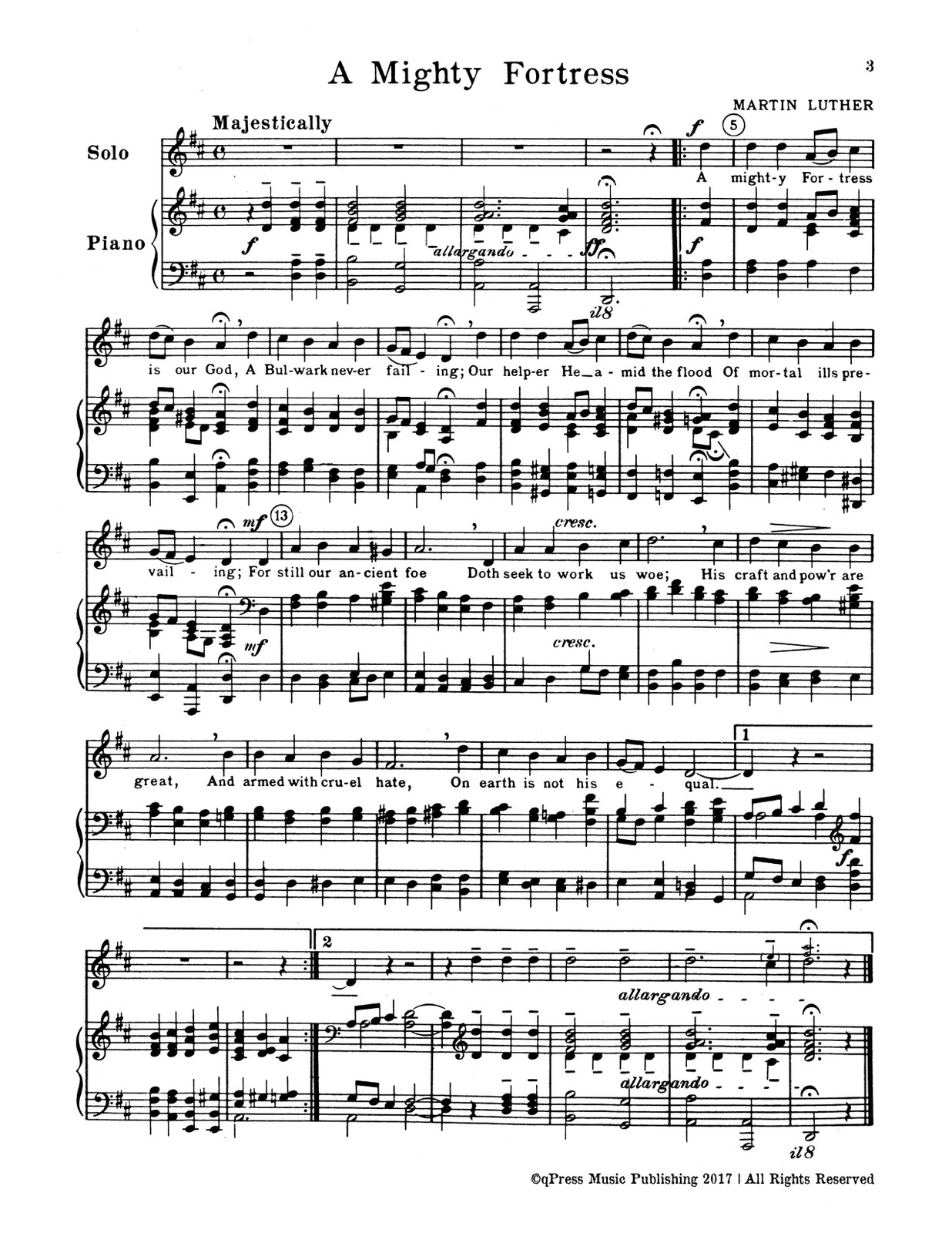 Long, Devotional Solos for Church and Program Use (Trumpet and Piano)-p21