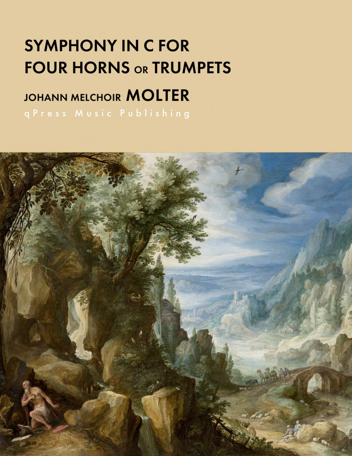 Molter, Symphony in C for 4 Trumpets or Horns