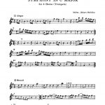 Molter, Symphony in C for 4 Trumpets or Horns-p03
