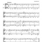 Schaeffer, 20 Well Known Christmas Carols in Bb-p02
