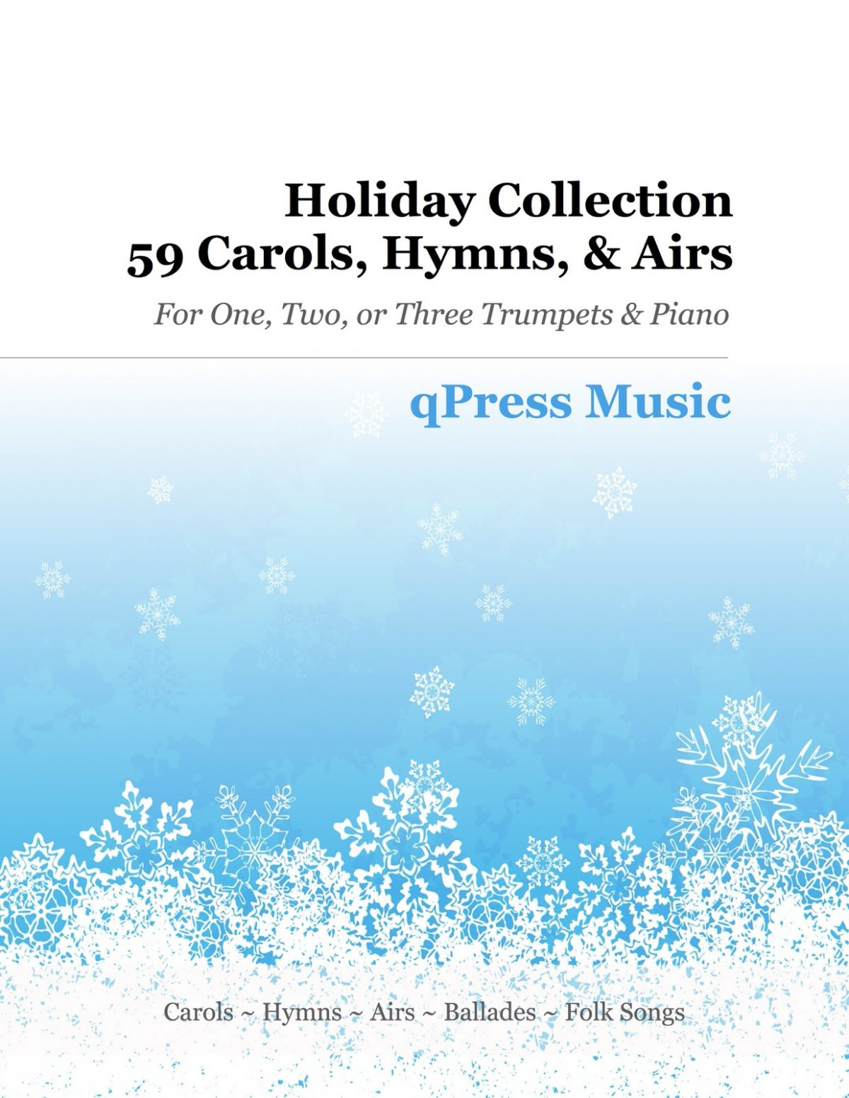 Various, Holiday Collection (59 Carols, Hymns, and Airs)-p001