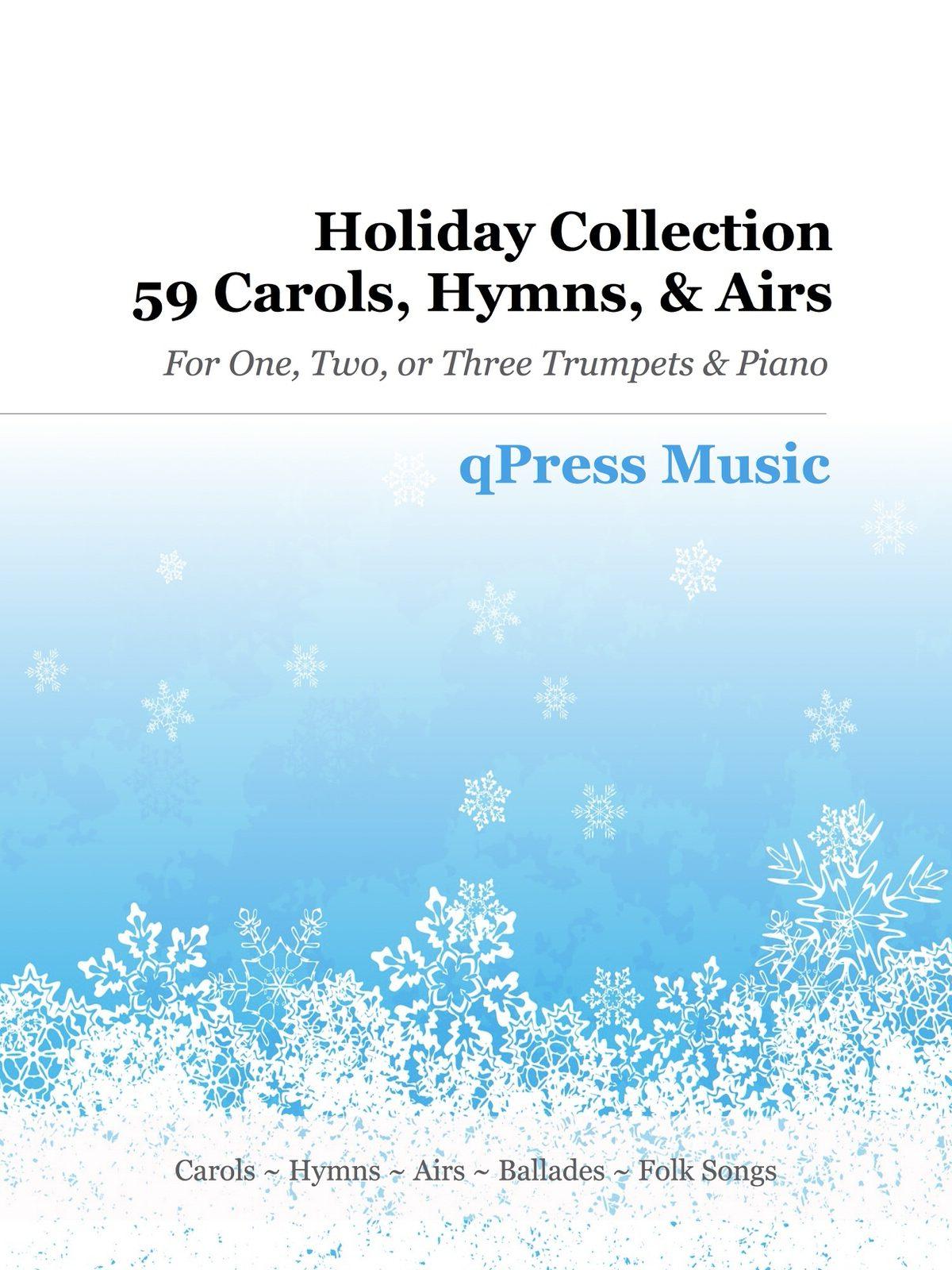 Various, Holiday Collection (59 Carols, Hymns, and Airs)-p001