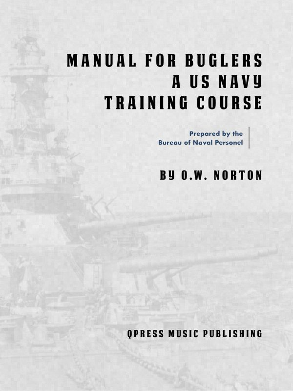 manual for buglers cover