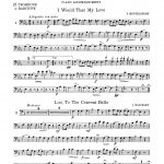 Bennet, Twelve Famous Duets for Cornet & Trombone p11