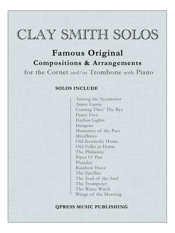 Smith, Clay, Solo Collection (Score and Parts)-p001