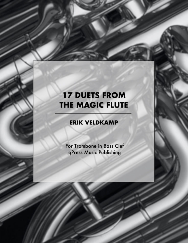 17 Duets from the Magic Flute for Trombone