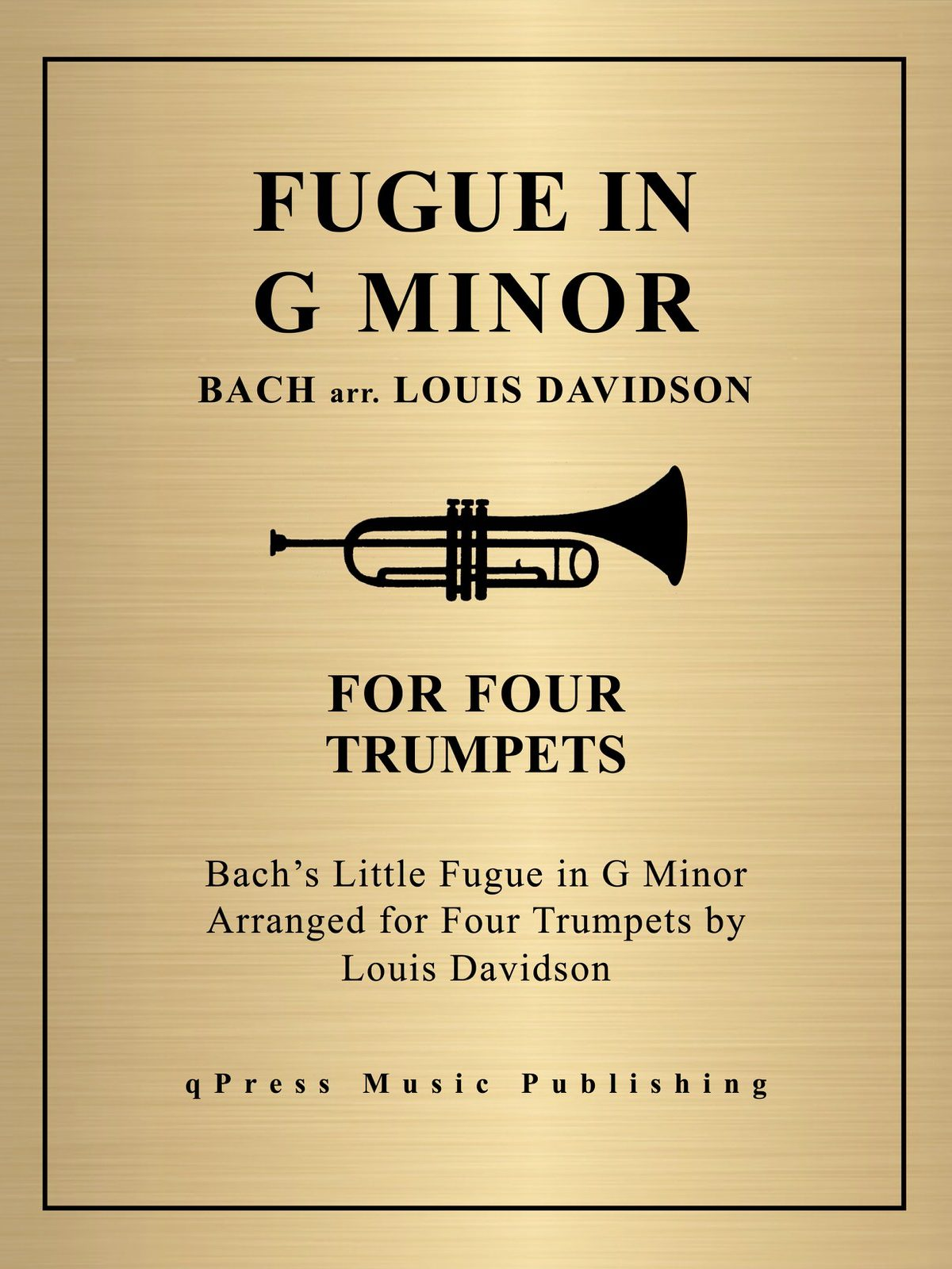 Davidson, Little Fugue in G Minor-p01