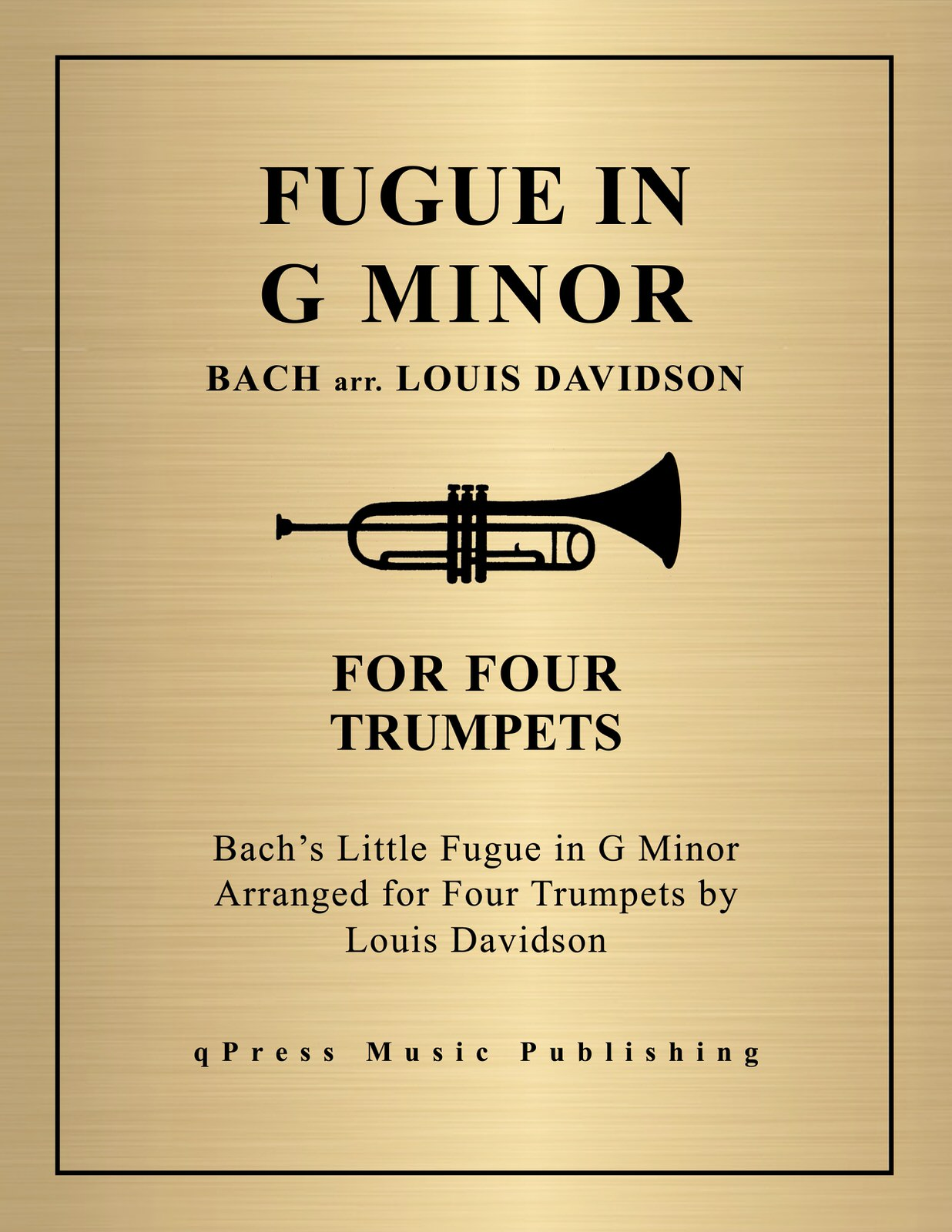 Davidson, Little Fugue in G Minor-p01
