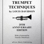Davidson, Trumpet Techniques Cover