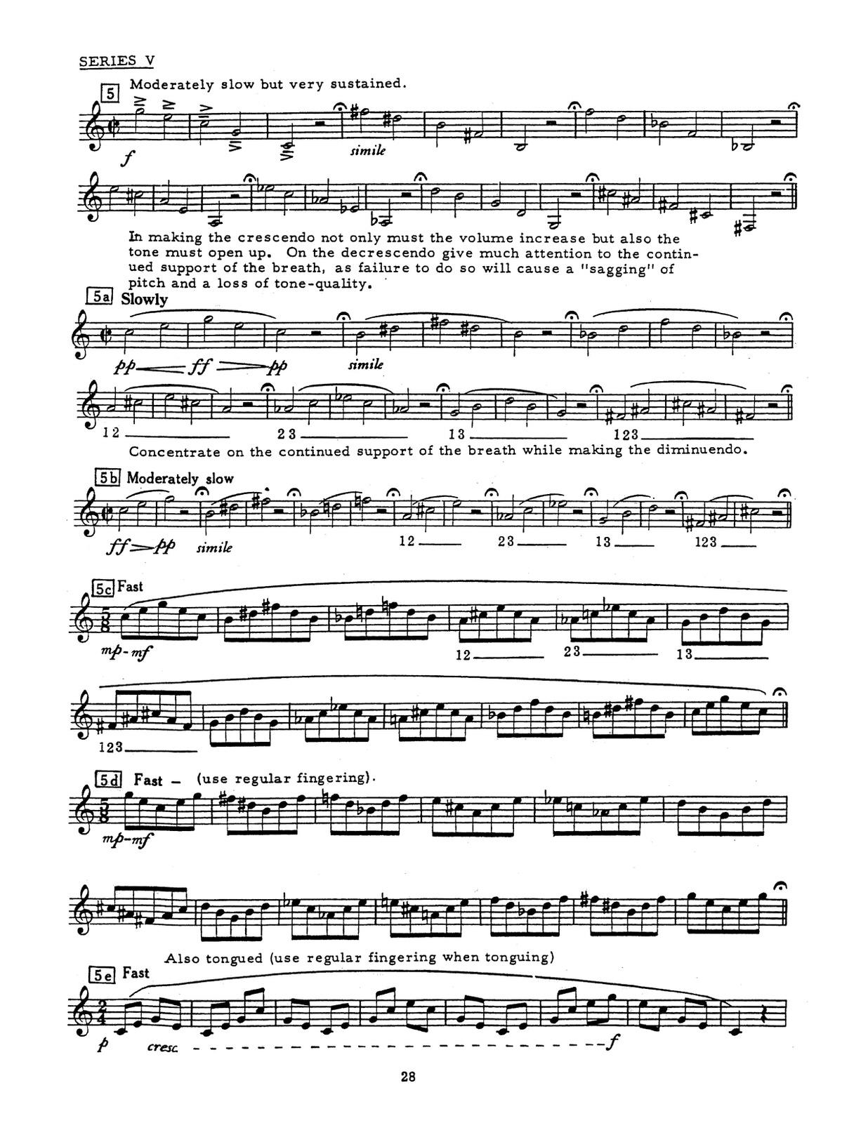 Davidson, Trumpet Techniques-p38