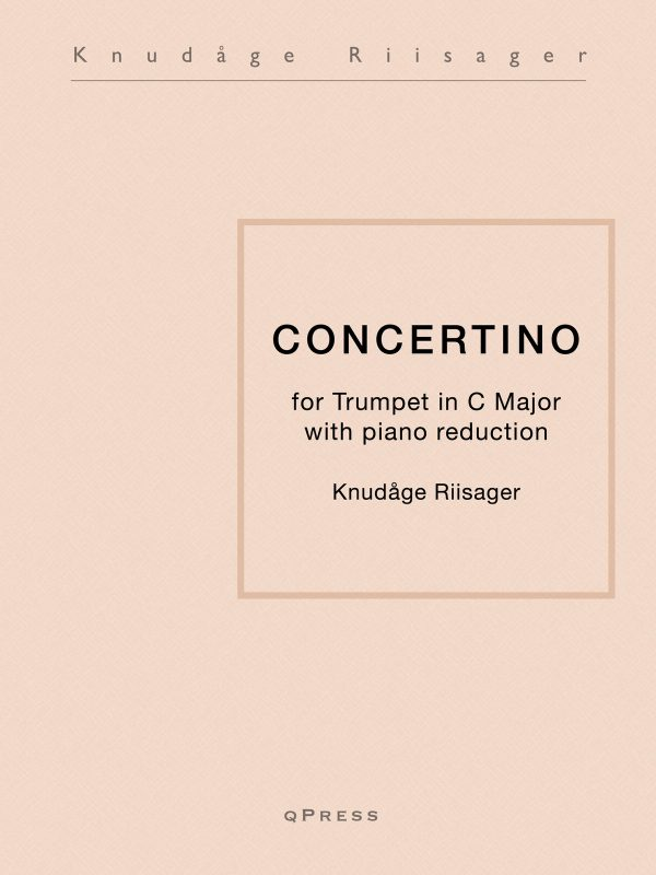 Riisager, Knudage, Concertino (Part and Score)-p01