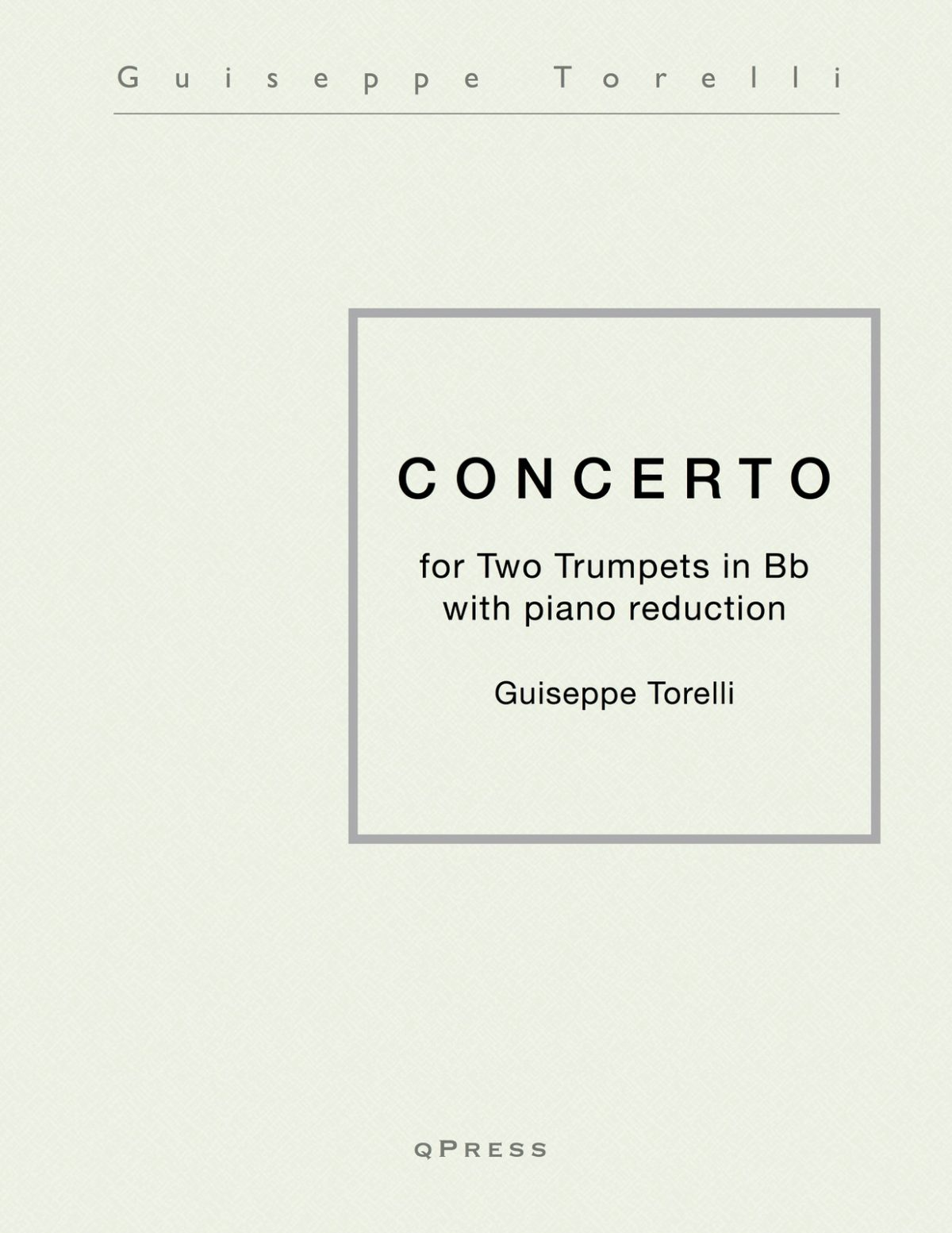 Torelli, Concerto in C Major for Two Trumpets-p01