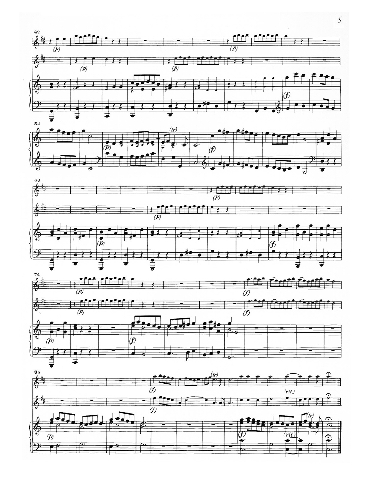 Torelli, Concerto in C Major for Two Trumpets-p09