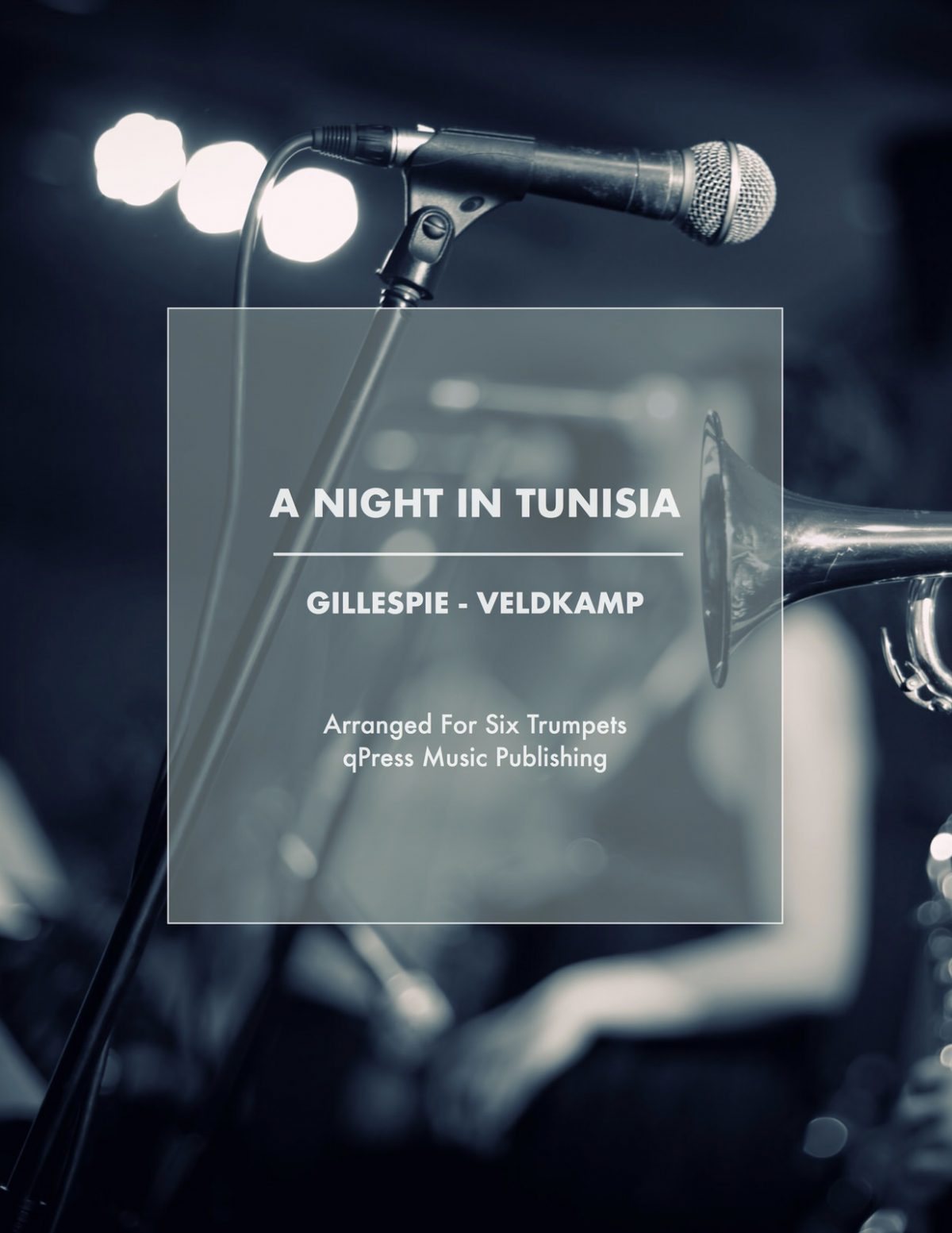 Veldkamp, A Night in Tunisia for 6 Trumpets (Score and Parts)-p01