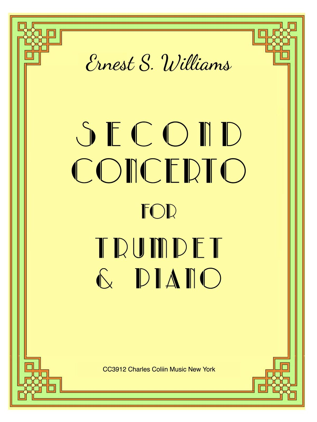 Williams, Second Concerto for Trumpet (Part and Score)-p01
