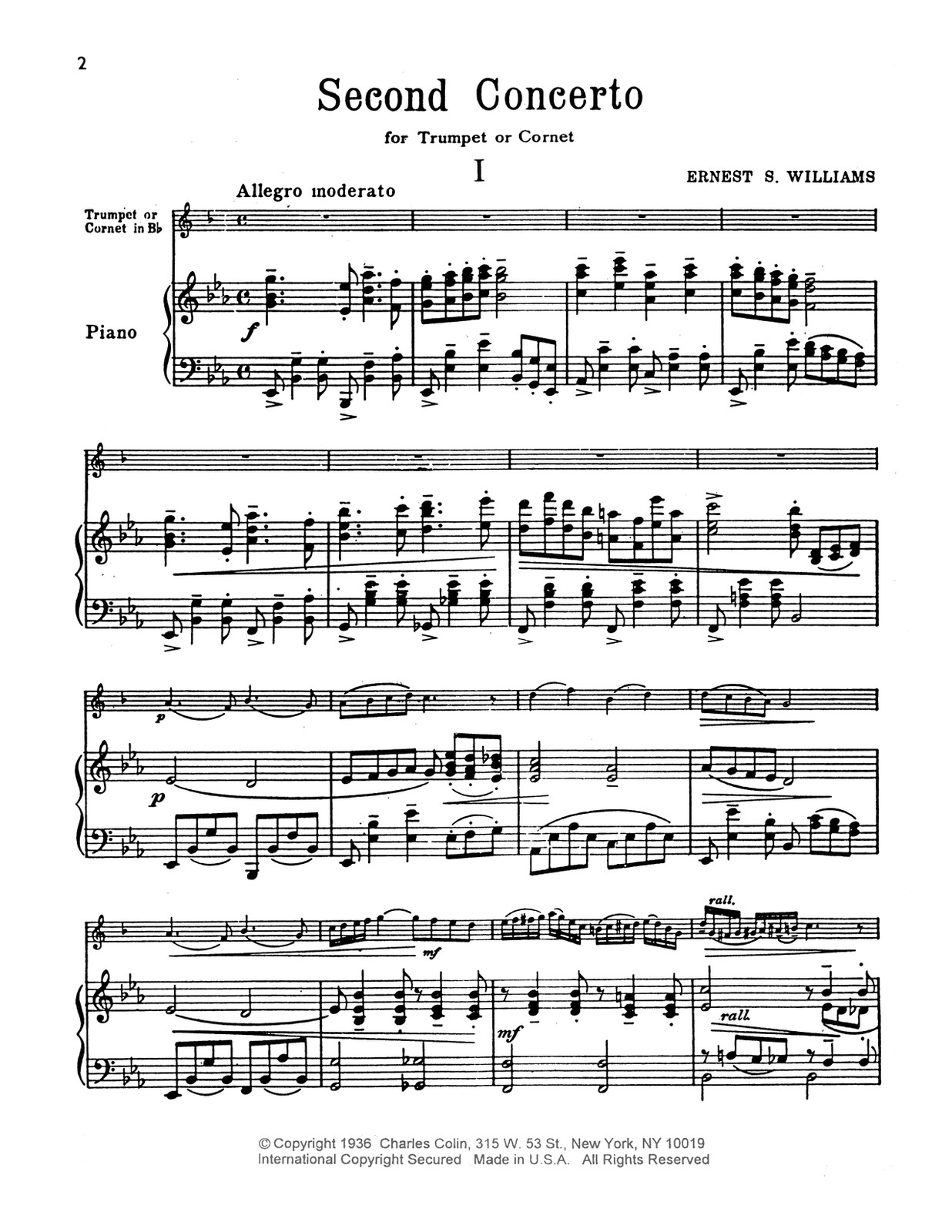 Williams, Second Concerto for Trumpet (Part and Score)-p14
