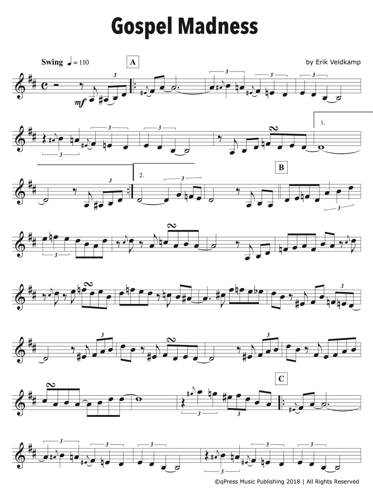 18 Play-Alongs in All Styles Level 4 (Intermediate)-p10