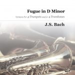 Bach, Fugue in D Minor (2 trumpets, 2 trombones) 4