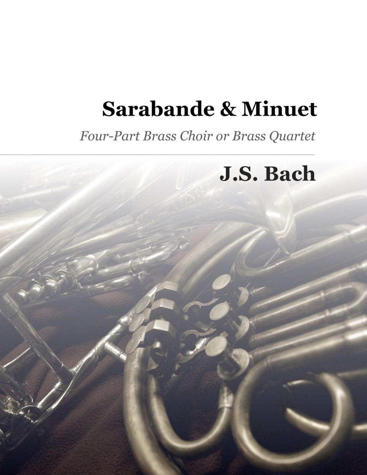 Bach, Sarabande and Minuet (Score and Parts)