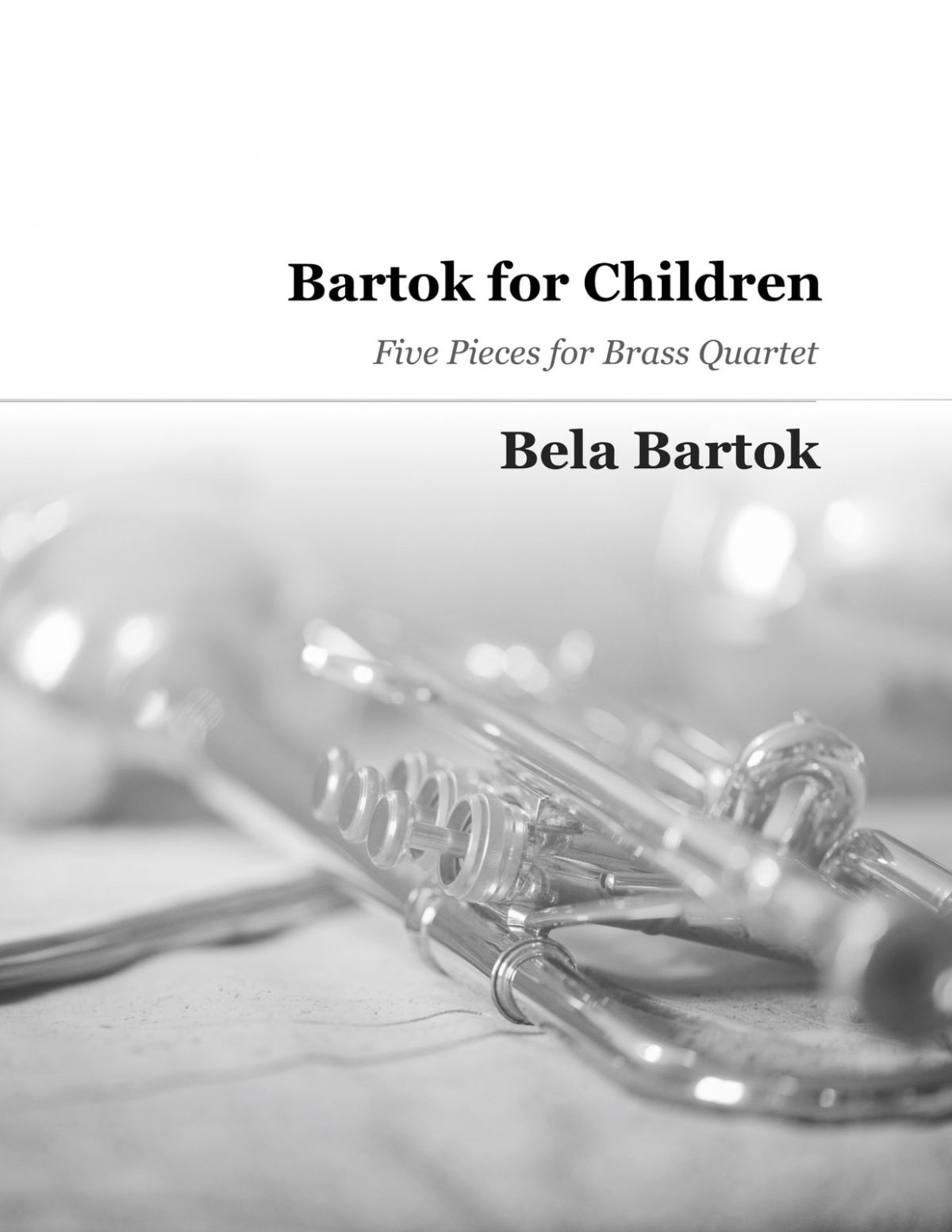 Bartok, Bartok for Children Brass Quartet (Score and Parts)