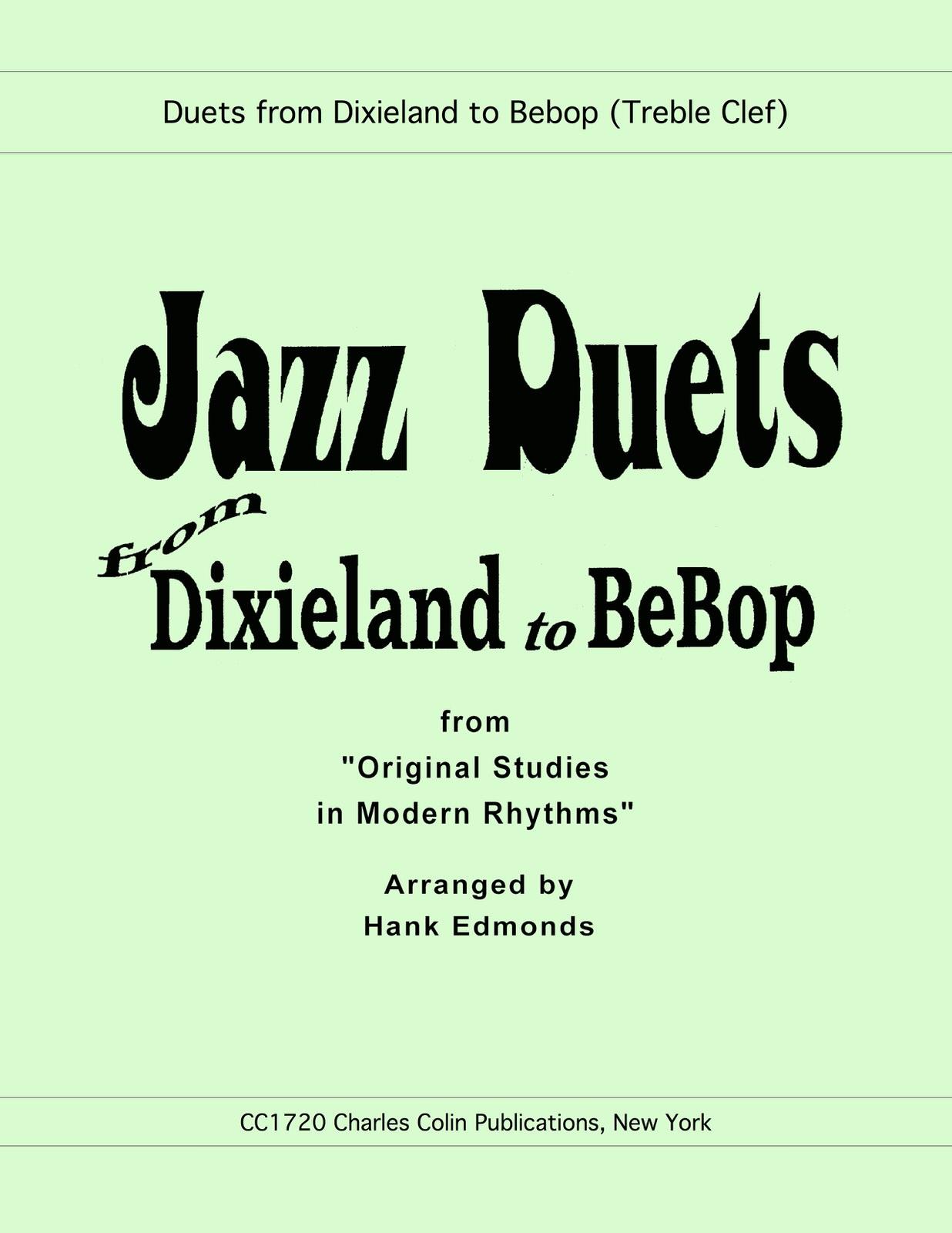 Edmonds, Jazz Duets from Dixie to Bebop-p01