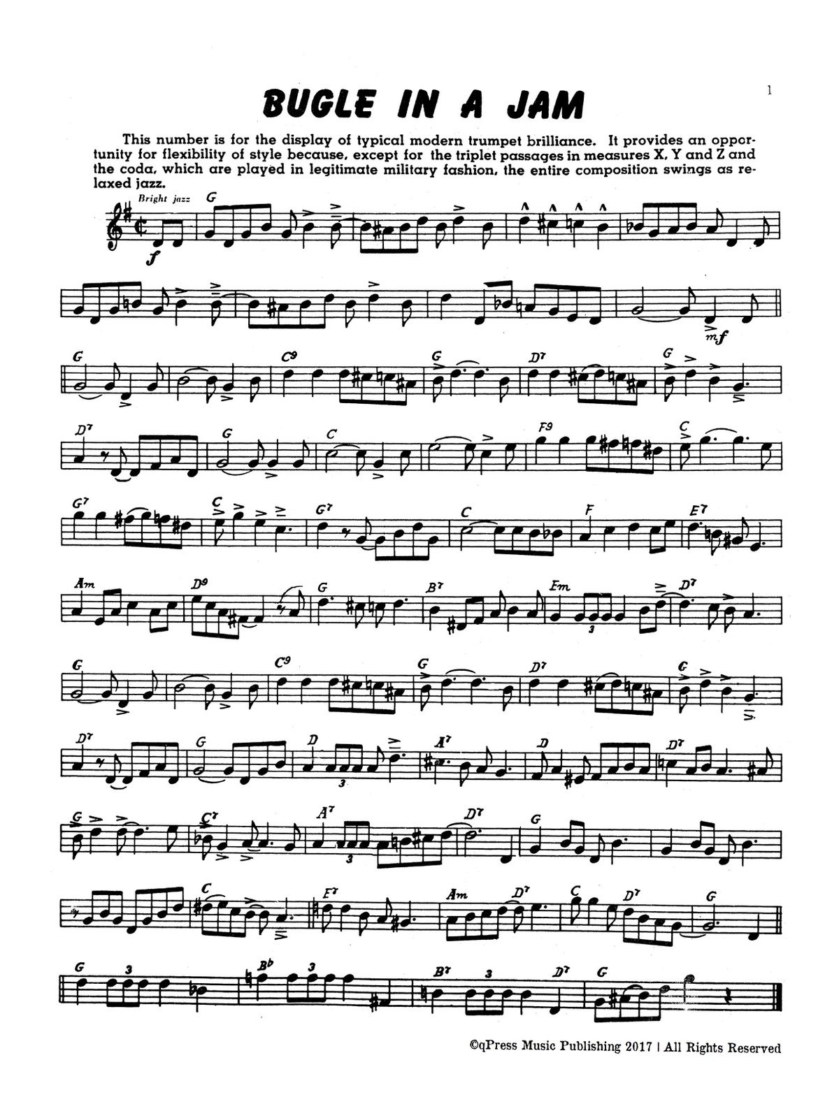 Paisner, Swing Etudes for Trumpet-p03