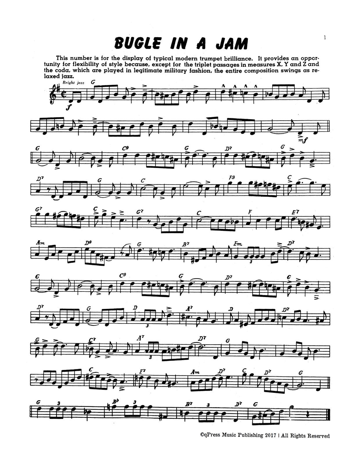 Paisner, Swing Etudes for Trumpet-p03