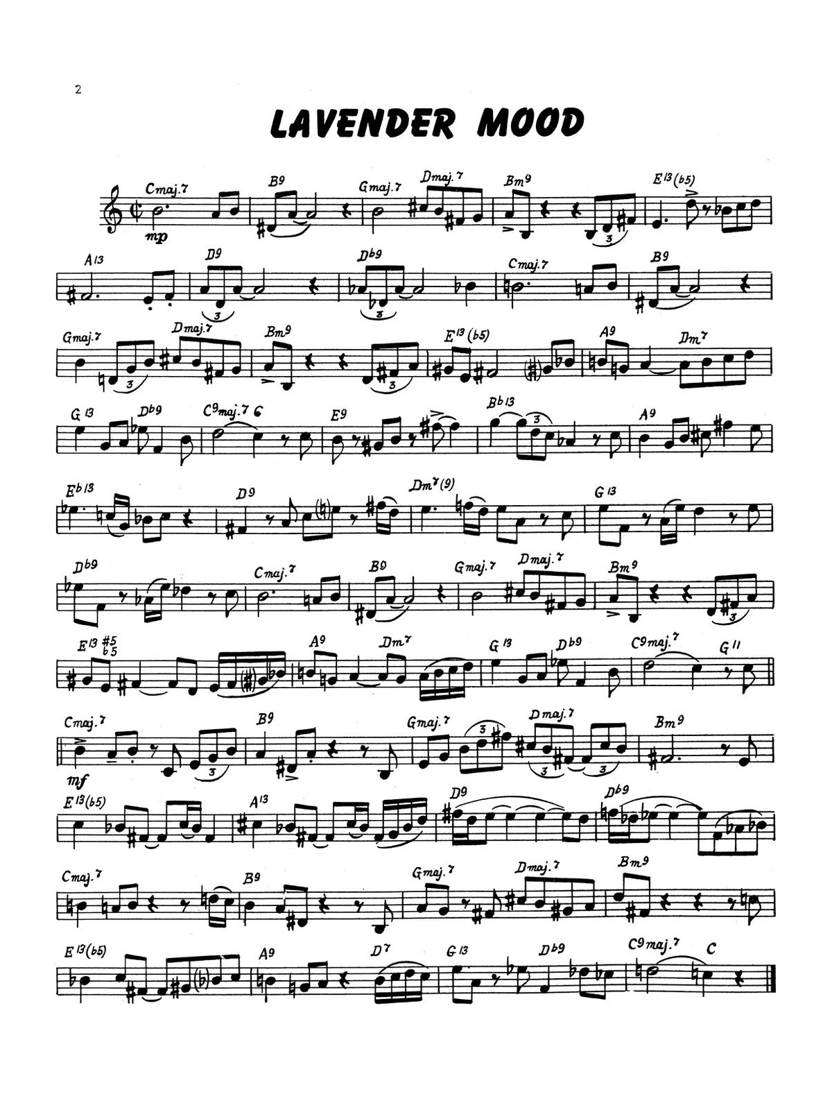 Paisner, Swing Etudes for Trumpet-p04