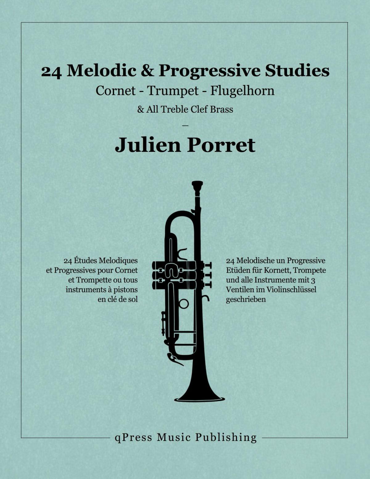 Porret, 24 Etudes Melodiques et Progressives-p01